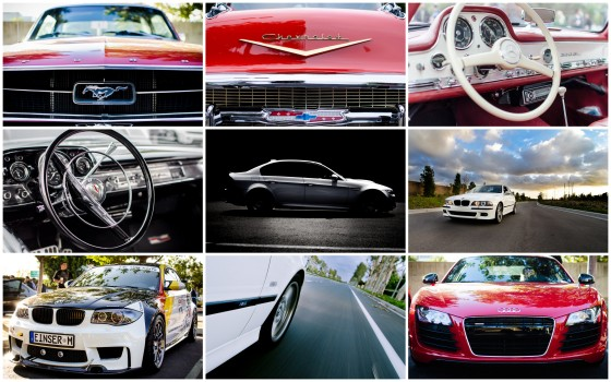 Automobile Collage