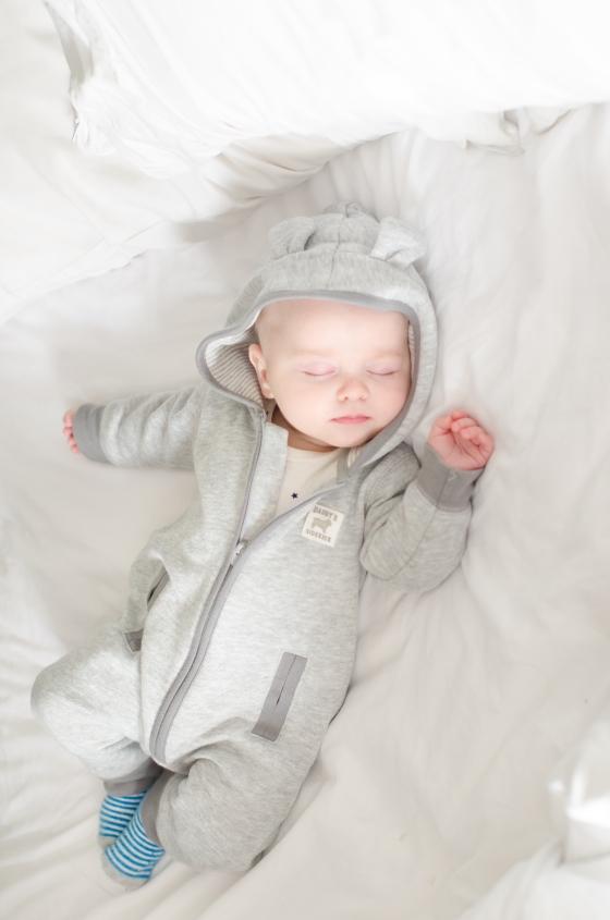 Sleeping precious baby